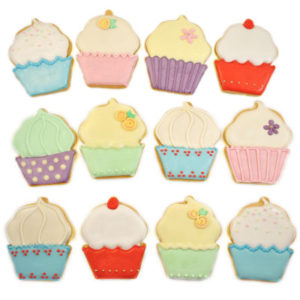 Cupcake Selection Biscuit Tin