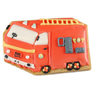 Fire Engine Biscuit Card