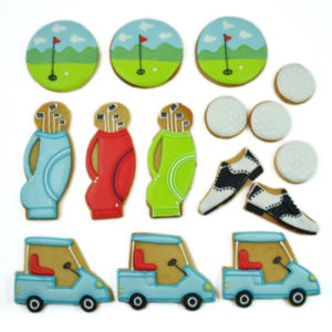 Golf Open Biscuit Tin