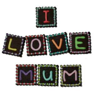 Letter Box Biscuits – I Love Mum