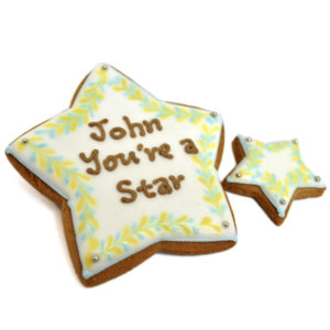 Personal Stylish Stars Biscuit
