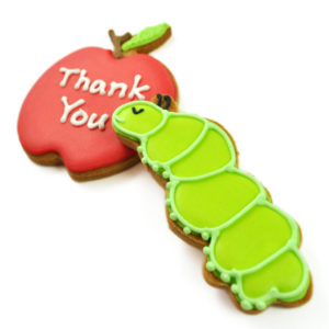 Personalised Hungry Caterpiller Biscuit