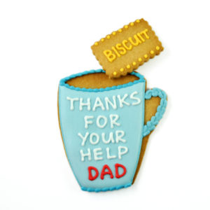 "Personalised Mug and ""Dunk Me"" Biscuit Card"