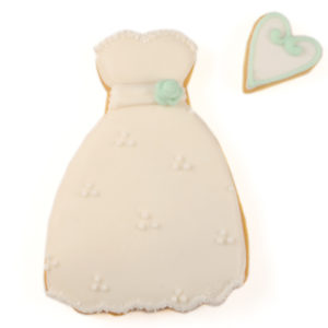 White Dress Biscuit Card