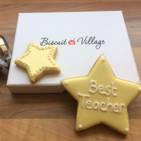 Teacher Stars Cookie Gift2